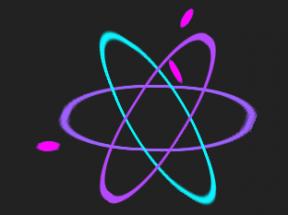 纯css3旋转原子动画特效