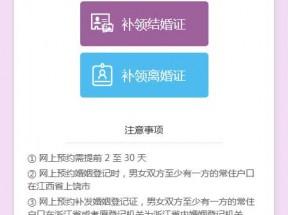 手机端预约婚姻登记页面模板