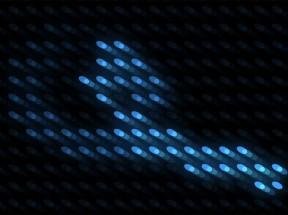 html5 canvas鼠标跟随圆点路径动画特效