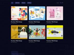 创意的个人作品主题html模板