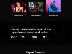 个人写真摄影图片展示html模板