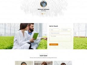 食品农业种植基地网站HTML模板