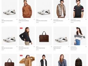 轻量级的服装销售电子商务HTML5模板