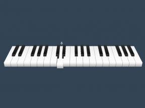 简单的黑白钢琴键盘ui特效