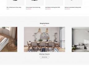 Bootstrap家具装饰电商响应式模板