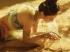 鸿音 敦煌 唯美侧脸美女双手捧沙子 3440x1440带鱼屏壁纸
