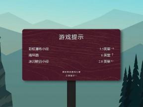 创意的游戏告示牌ui布局