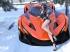 橙色跑车 王牌竞速 游戏美女西里4k壁纸