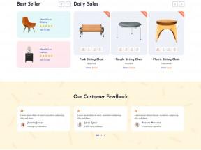 响应式的家具店铺HTML模板