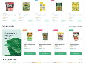 多用途的生鲜水果超市电商HTML模板